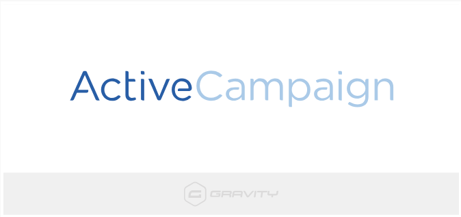 Gravity Forms Active Campaign Add-On